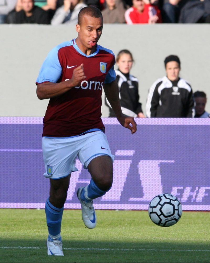 Former Aston Villa striker Gabriel Agbonlahor from Birmingham has said he has coronavirus symptoms