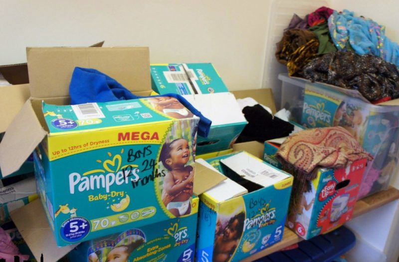 Birmingham Community Solidarity are getting nappies to mothers in need