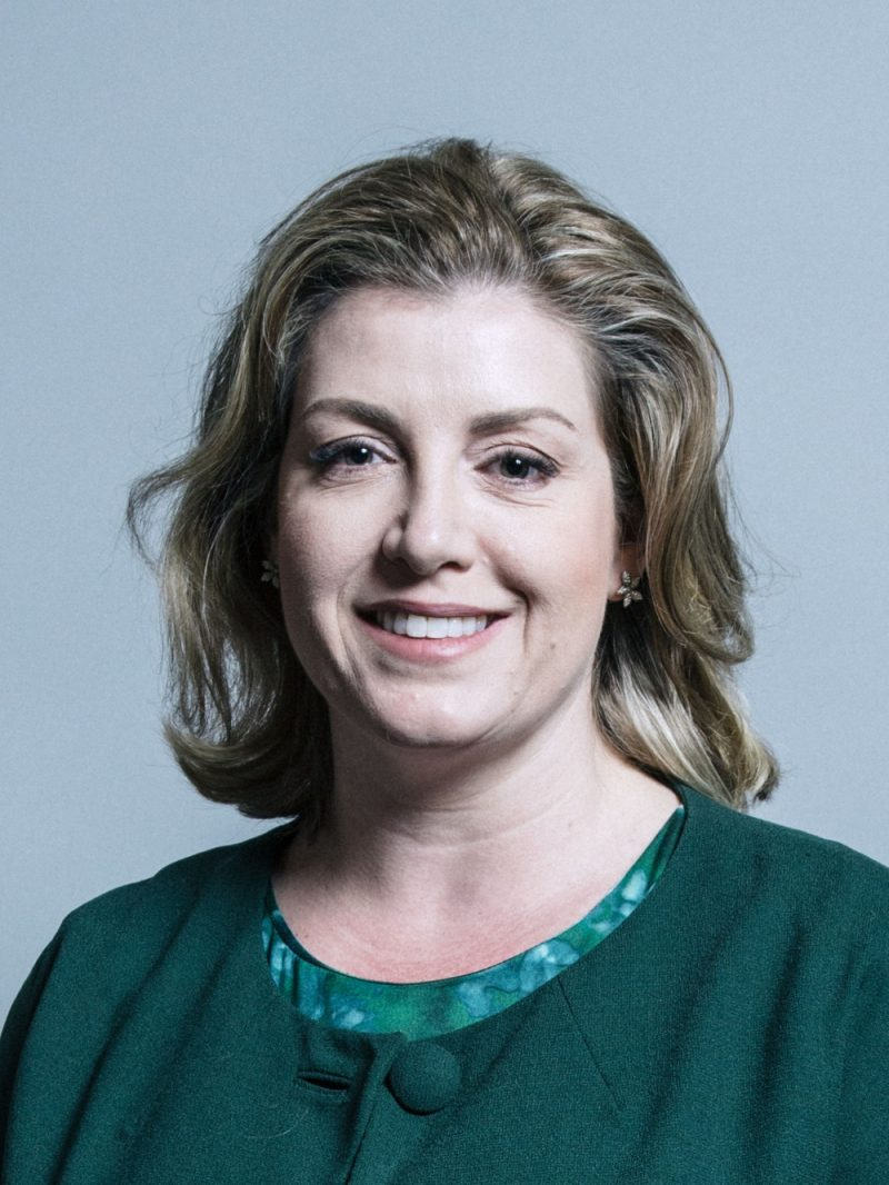 """Penny Mordaunt has asked people to """"take some simple steps before sharing information online"""""""