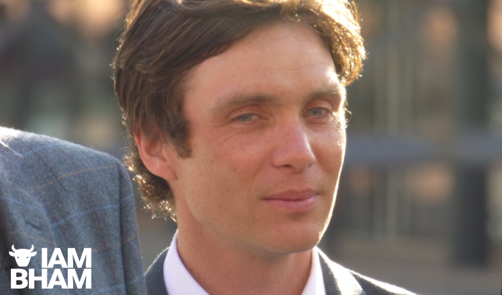 Actor Cillian Murphy, the lead star of Peaky Blinders, at a recent Birmingham red carpet premiere
