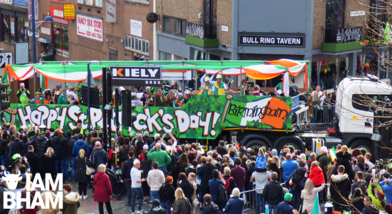 St. Patrick's Day Parade in Birmingham has been cancelled amid COVID-19 concerns