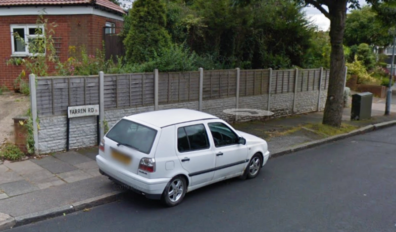 The arson attack took place at a residence in Farren Road in Northfield