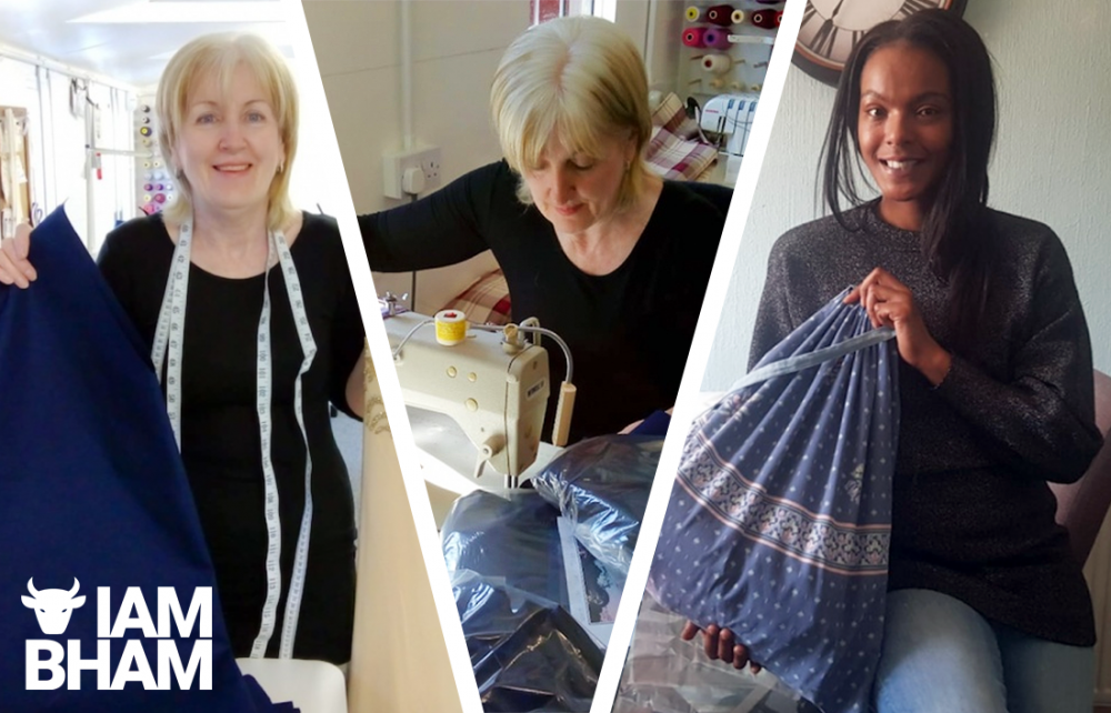 Meet the Birmingham volunteers creating scrubs for NHS staff still without basic PPE