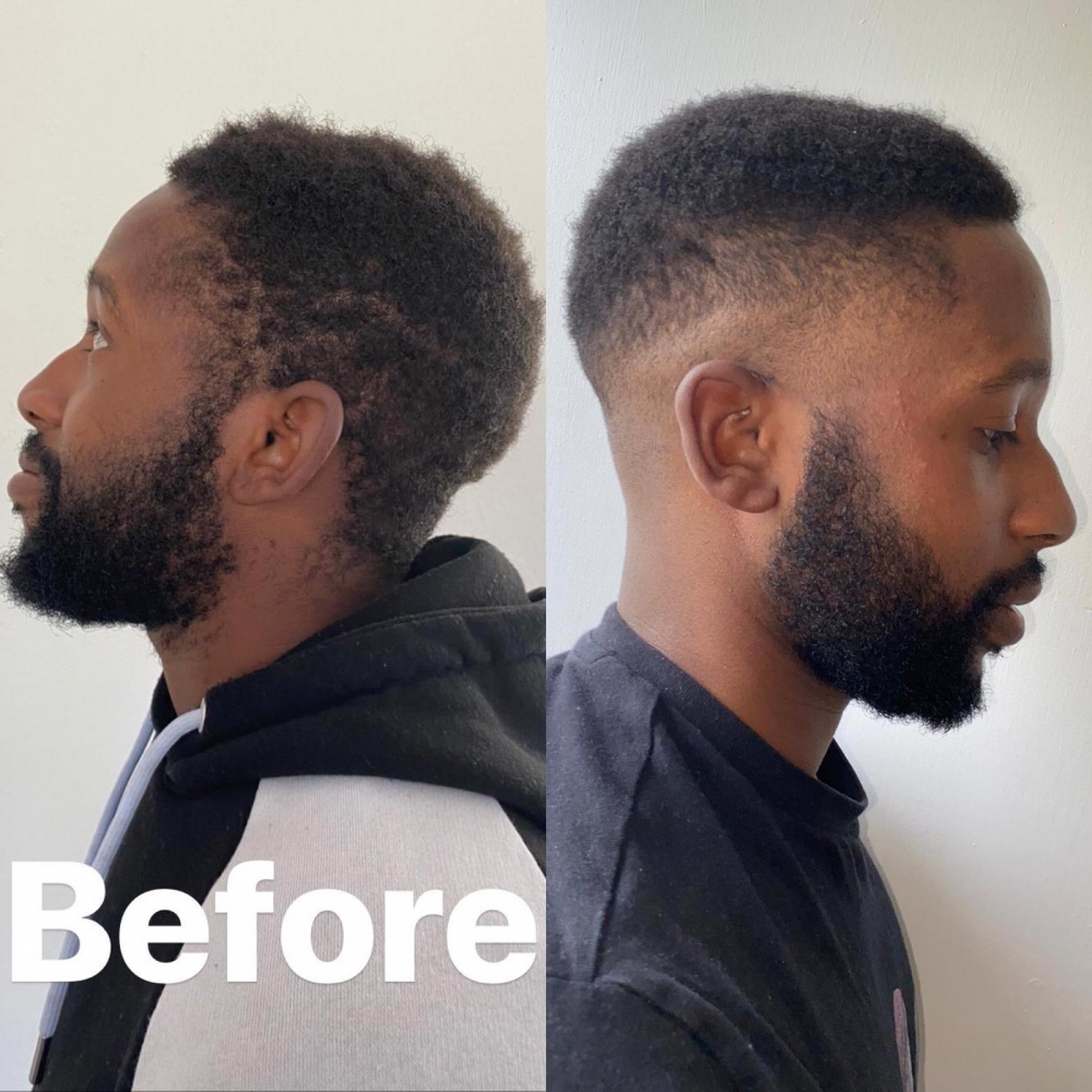 The BEFORE and AFTER pictures of the lockdown haircut