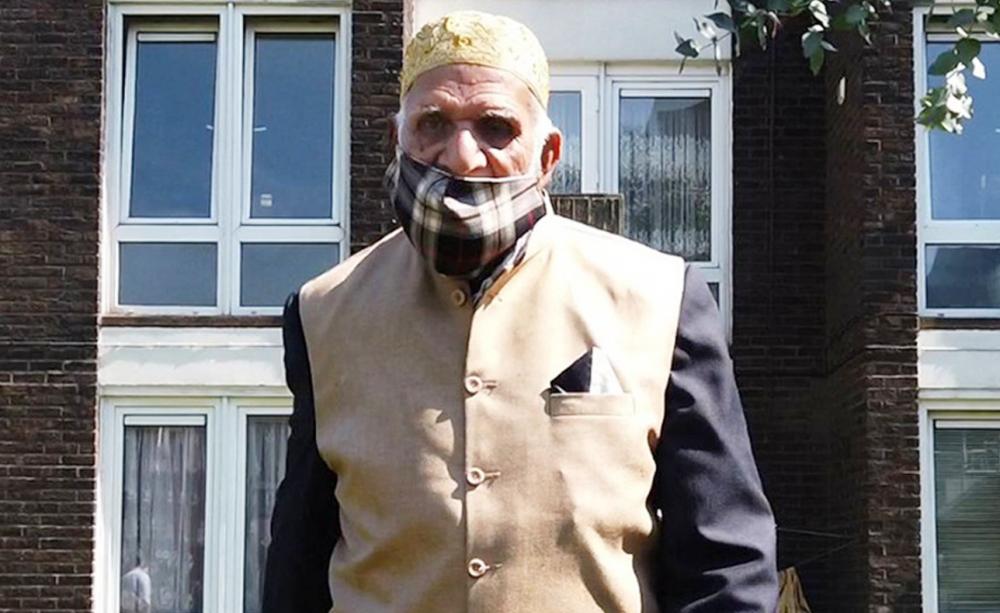 100-year-old man raises over £75,000 for coronavirus charities during Ramadan