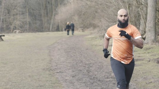 Haroon Mota ran every day during Ramadan without food or water to raise money for charity