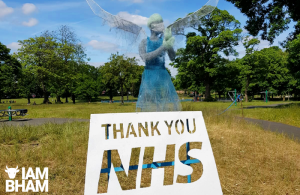 Black Country sculptor creates tribute to NHS and care workers fighting coronavirus