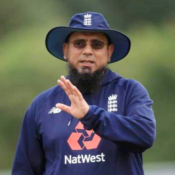 Helping the elderly and the vulnerable was part of Saqlain Mushtaq's message