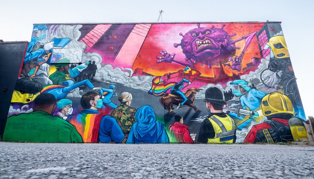 A stunning new mural which celebrates Birmingham