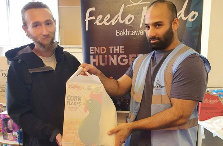 Birmingham community based charity offers food to the vulnerable and homeless during the pandemic
