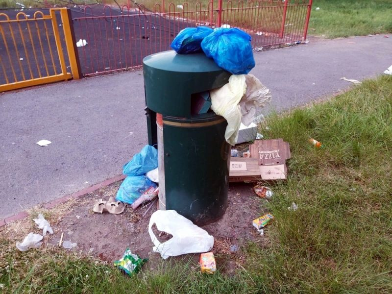 The Council, including local MP and Councillors in Small Heath, have failed to address serious refuse issues in parks