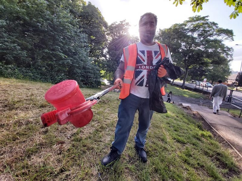 Discarded plastic litter is becoming very common in Birmingham parks according to the Waste Warriors