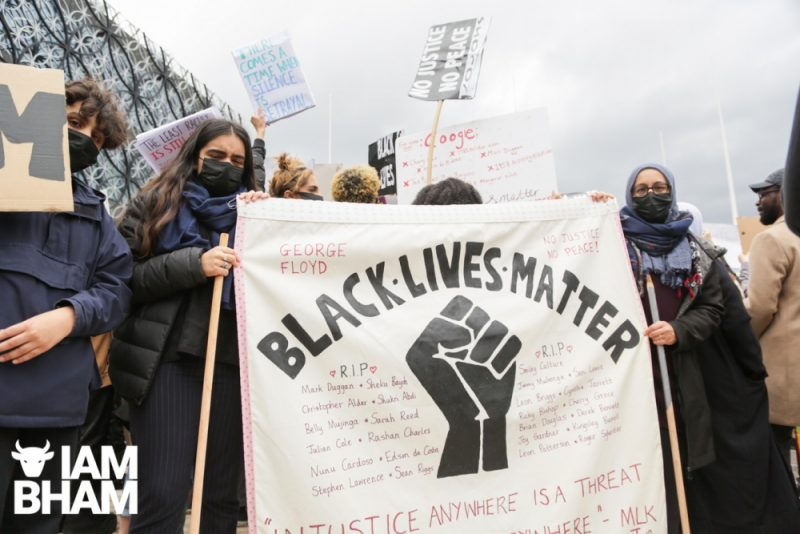 Black Lives Matter protests have taken place across Birmingham and several major Uk cities in recent weeks