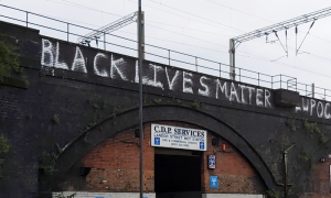 New 'Black Lives Matter' message appears across Birmingham bridge