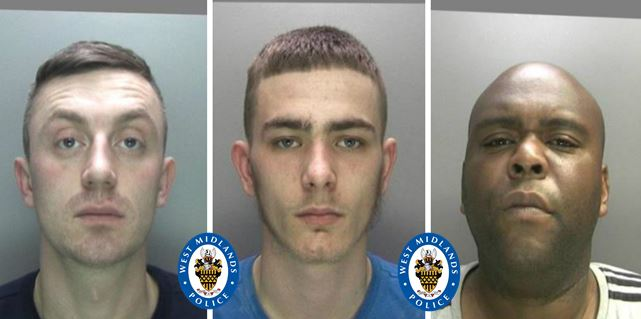Jones, Greenway and Saddler were all jailed