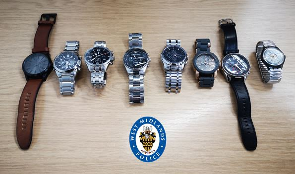 Stolen designer watches were found in Nicky Rothero's bedroom