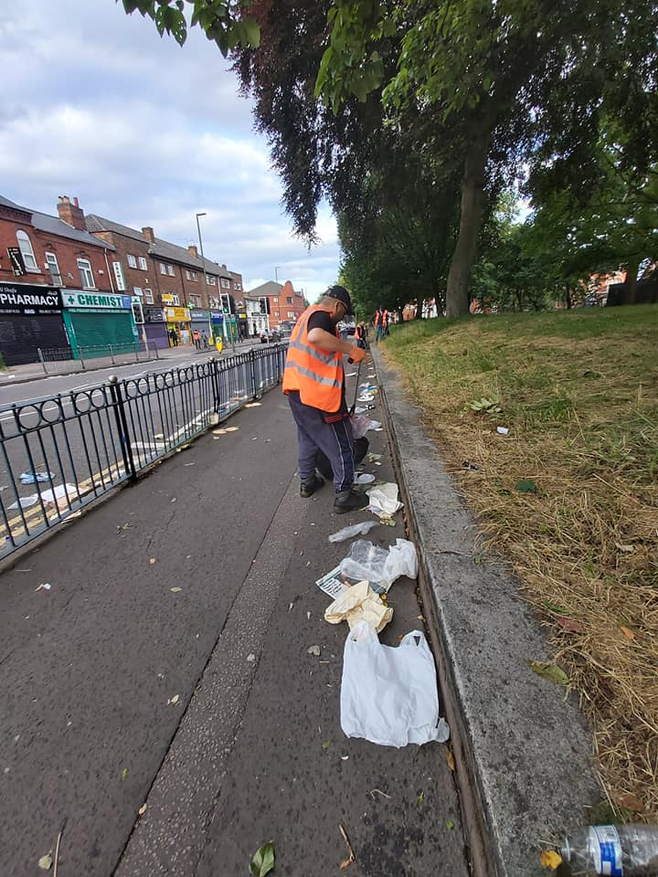 Coventry Road is always full of litter after stores close