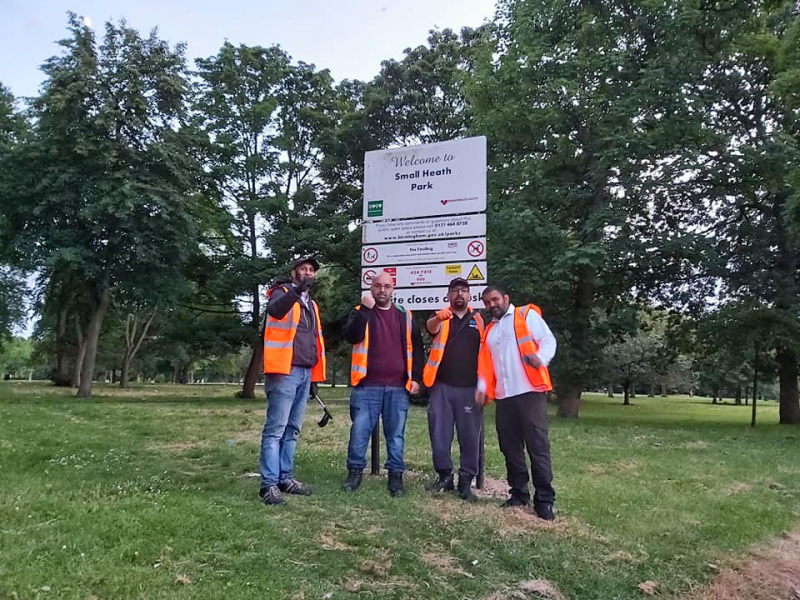The Waste Warriors have vowed to continue their cleanup operations across Birmingham park