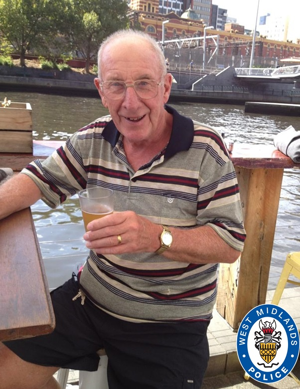 85-year-old cyclist Brian Humphreys from Walsall died following a traffic accident