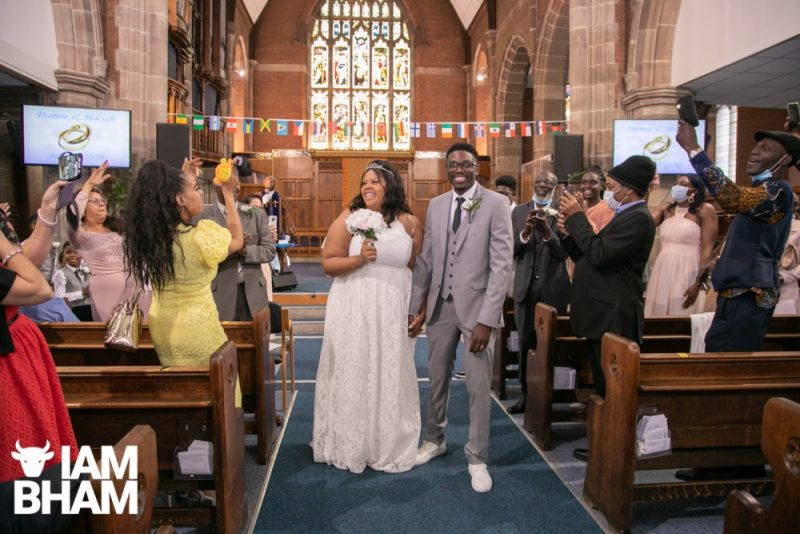 Post lockdown wedding, 4th july, wedding photography, lensi photography, birmingham
