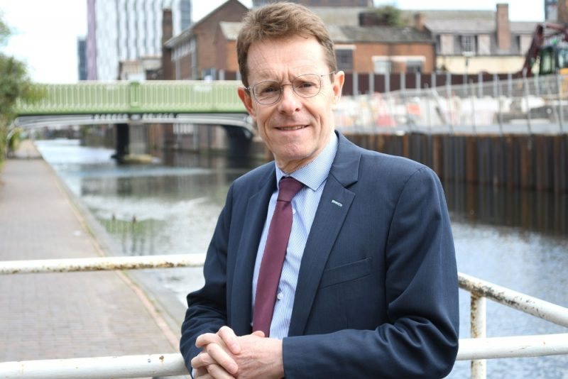 West Midlands Mayor Andy Street will lead a regional event online to mark Holocaust Memorial Day 2021