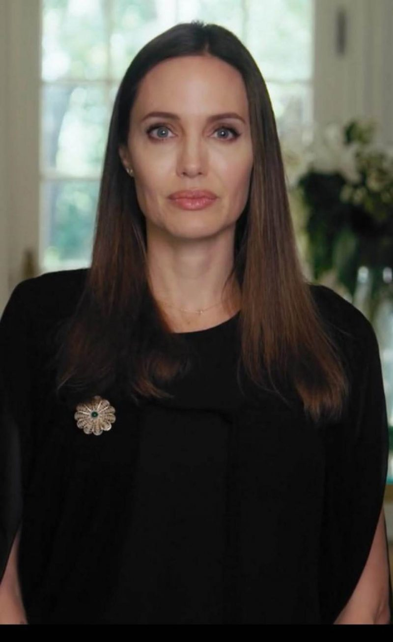 """In a video message to mark the 25th anniversary of the Srebrenica massacre, Angelina Jolie urges Bosnians not be """"prisoners of the past"""""""
