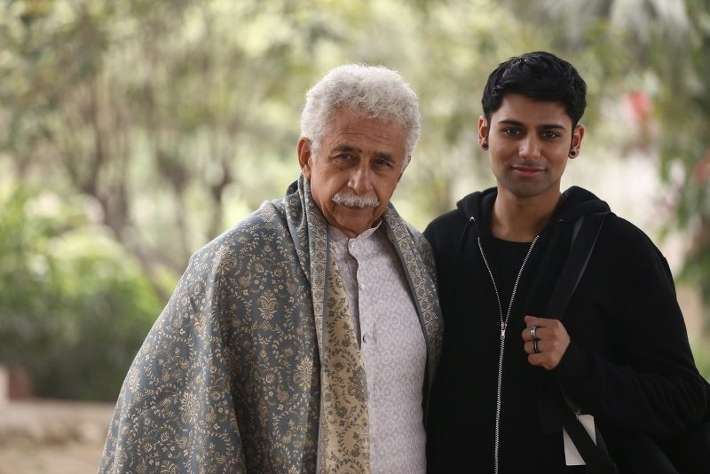 Antonio Aakeel alongside veteran actor Nasurideen Shah in 2017 feature film 'The Hungry', adapted from Shakespeare's 'Titus Andronicus' and directed by Bornila Chatterjee