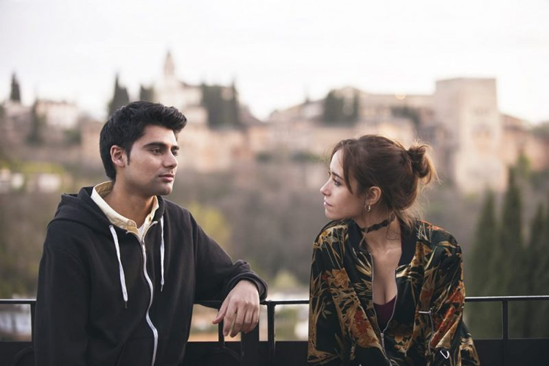 Antonio Aakeel and Tábata Cerezo star in Granada Nights, filmed in southern Spain