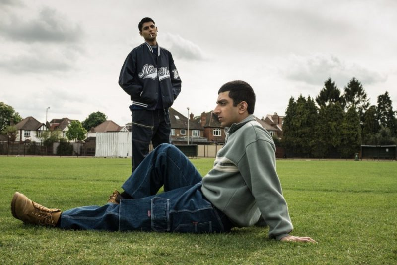 Antonio Aakeel as Lovely with Reiss Kershi-Hussai as Tommy Akhtar in 2016 film 'City of Tiny Lights'