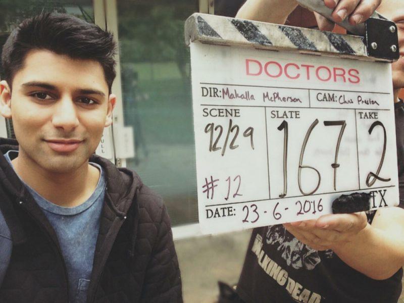 Birmingham actor Antonio Aakeel plays Mark 'Stotty' Stott in the special episode of BBC Doctors