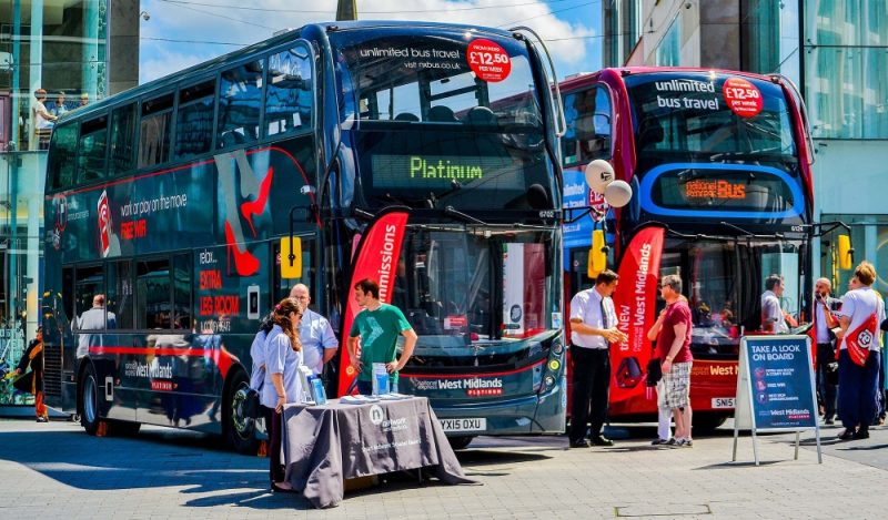 Current buses in the West Midlands are improving to be more accessible and more efficient