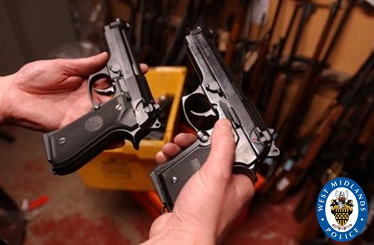 More than 40 guns have been taken off the streets since April