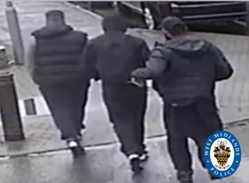 Hassan Rauf and Ibrahim Rauf caught on CCTV dragging victim to their car WMP