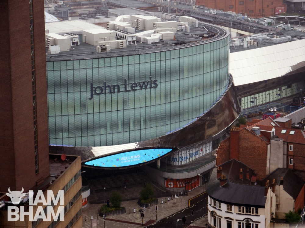 John Lewis flagship Birmingham store to close as company announces 1,300 jobs at risk