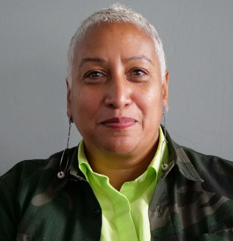 Joy Warmington MBE is CEO Chief Executive of Birmingham Race Action Partnership BRAP - photo by Adam Yosef CROP