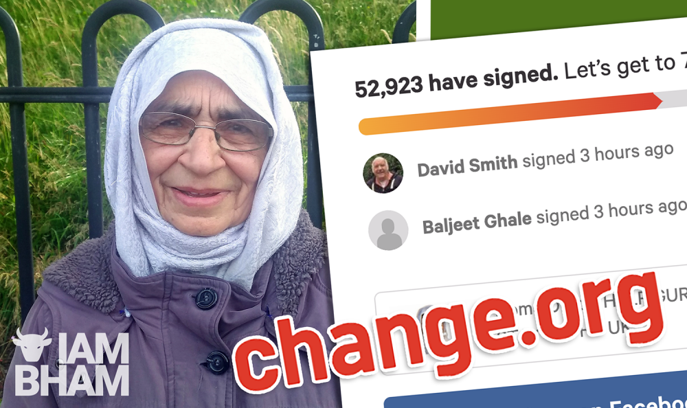 Over 50,000 back campaign to stop UK deportation of  Smethwick woman Gurmit Kaur