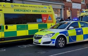 Man arrested after two paramedics stabbed in Wolverhampton – both with serious injuries