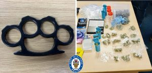 Weapons and drugs seized as police make arrests in Wolverhampton crime crackdown