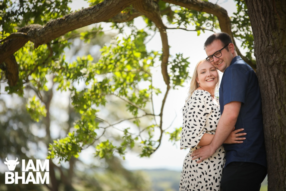 Engaged couple Becky and Tom are due to marry at Davenport House next year