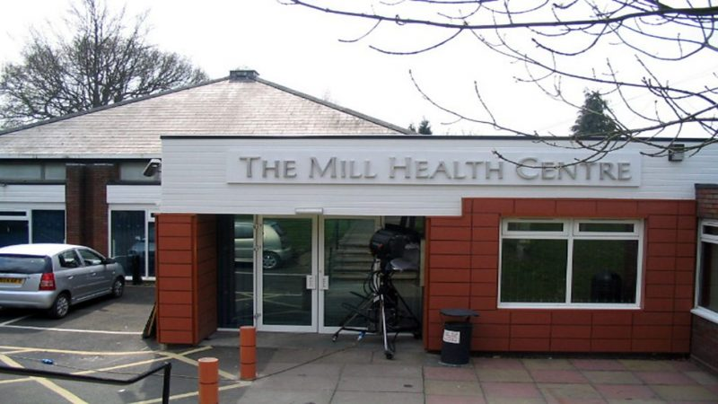 The fictional Mill Health Centre at BBC Studios in Birmingham features in Doctors