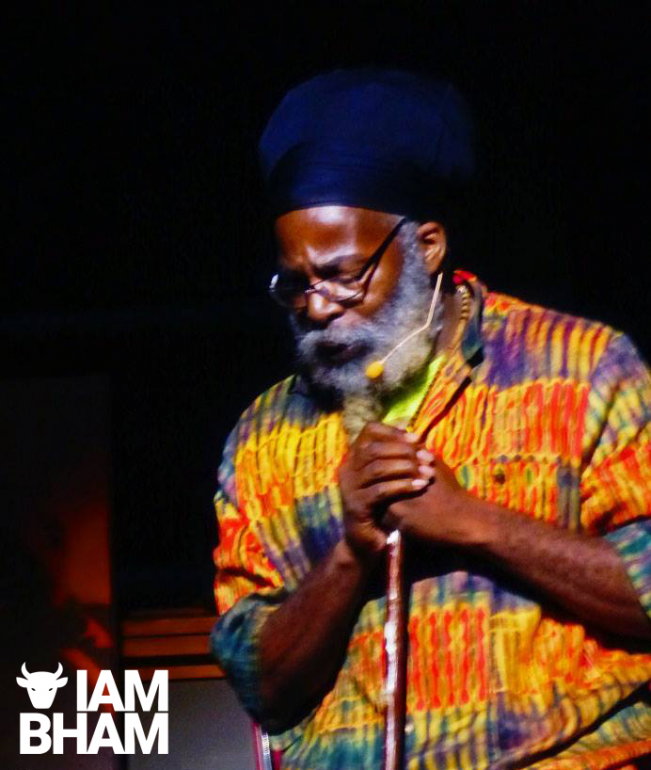 Dub poet Moqapi Sellasie will perform a session at the event