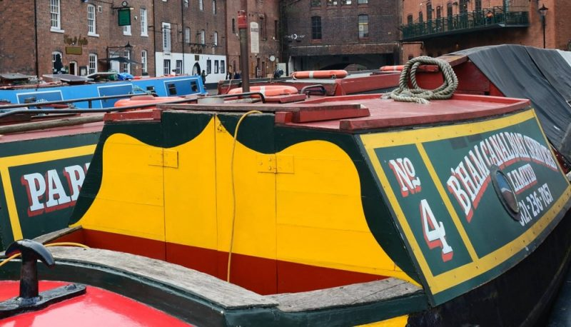 Explore the city's famoud canals during Biringham Heritage Week