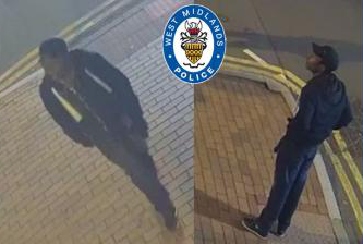 Police have issued CCTV footage of a man they want to question in connection with the Birmingham stabbings