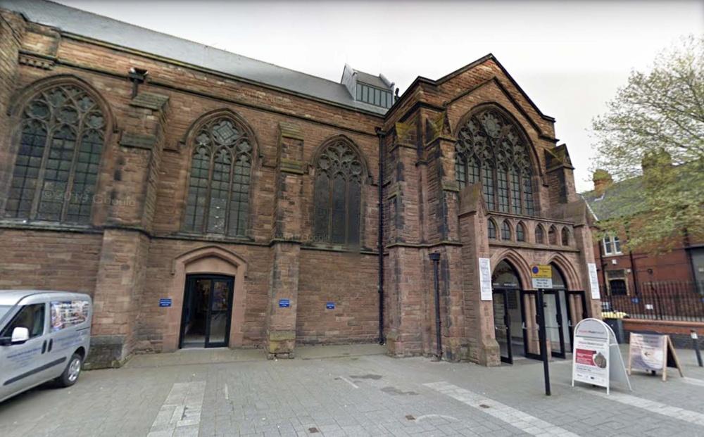Church gunman suspect arrested after flat raid in Walsall