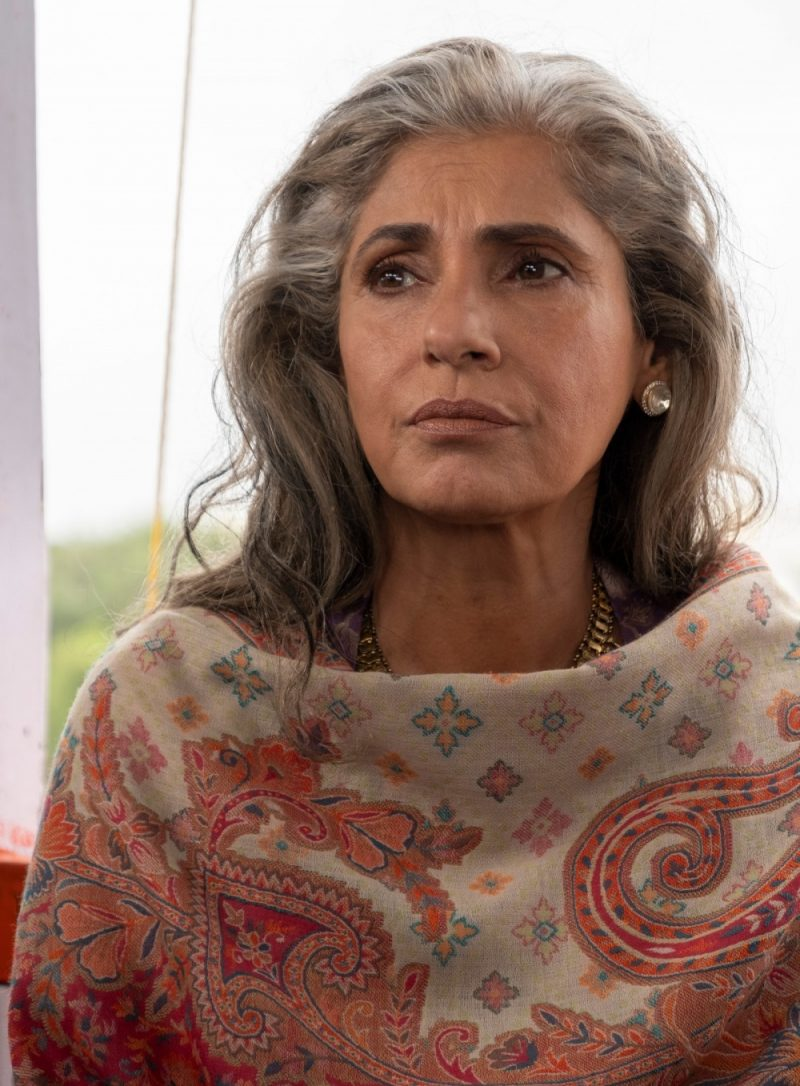 Dimple Kapadia plays arms dealer Priya Singh in TENET