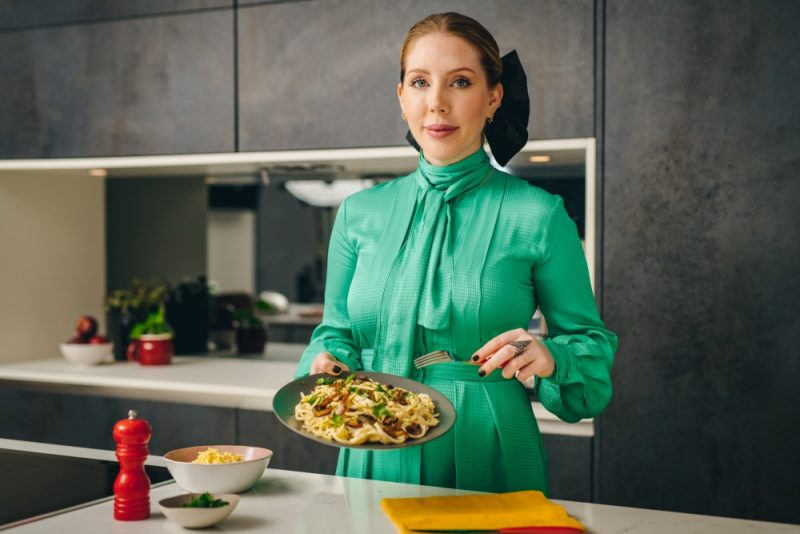 Comedian Katherine Ryan taste tested some of the foods Brits don't think they like