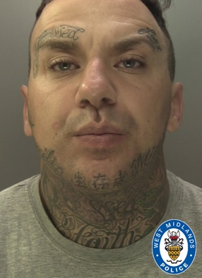 Serial thief Anton Maher jailed for pulling out a gun in Birmingham city centre