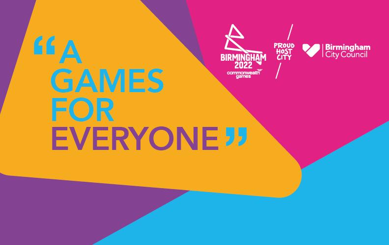 """Birmingham City Council and partners have dubbed the sporting event """"A Games for Everyone"""""""
