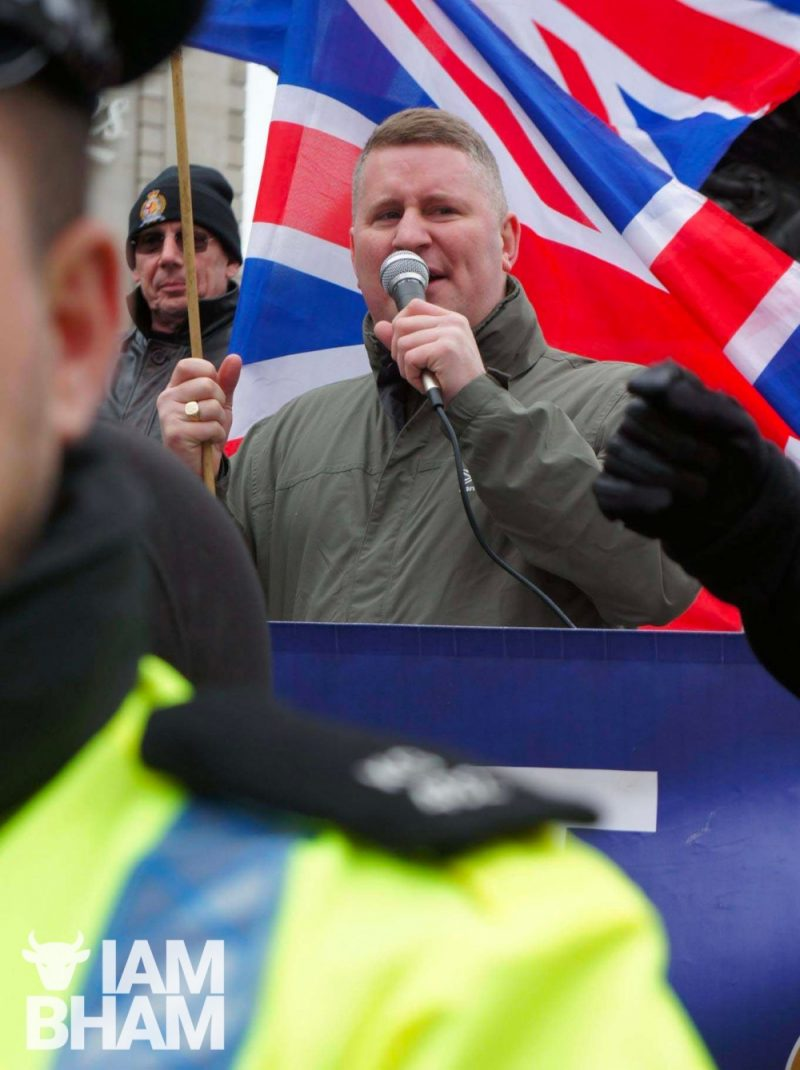 Paul Golding and his far-right group Britain First have been invading hotels to intimidate refugees and asylum seekers