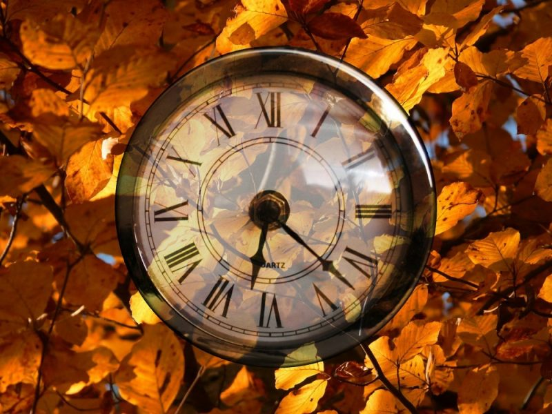 Clocks will go back in the UK on Sunday 25 October at 2am